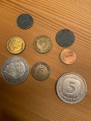 Deutsche Münzen Pfennig Mark Reichspfennig