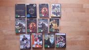 Div ältere PC Spiele DVDs
