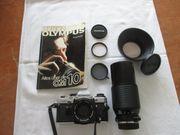 Fotoausrüstung OLYMPUS OM10 analog