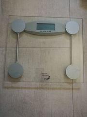 Digitale Personenwaage 180 kg Glas-Line