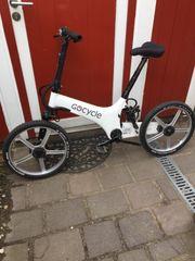 Gocycle Klapprad Ebike G1 Flottes
