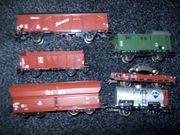Märklin Güterwagenset 6 teilig aus