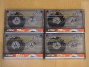 4x Audio Kassetten TDK Super