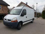 Renault Master Wohnmobil Transporter 158000km