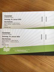 Caveman Eintrittskarten München 18 01