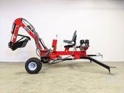 Minibagger für ATV mit umfangreichen