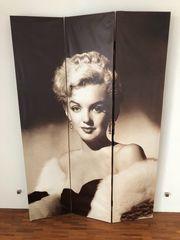 Paravent mit 2 Motiven Marilyn