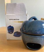 Apfelbräter Aroma Duftlampe aus Keramik