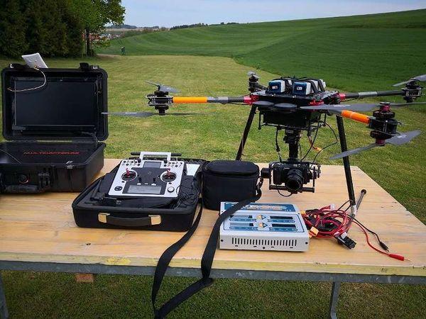 EVO-X8 koax Okto Drohne UAV