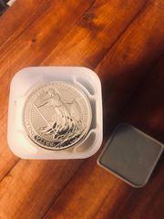 25x1 Unze oz Dollar Feinsilber