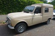 Renault Fourgonette - Picknick-Wohnmobil