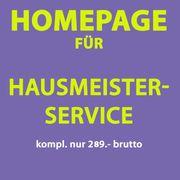 Hausmeister Webseite Homepage nur 289
