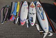Große Surfausrüstung 3x Board 5
