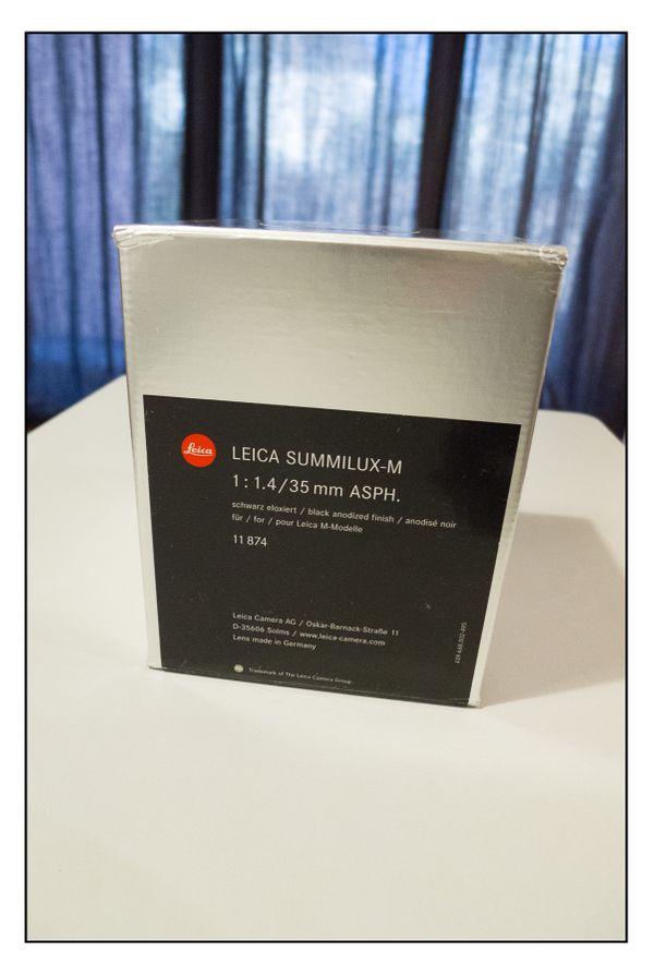 Leica Objektiv M 35mm 1