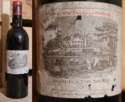 1965er Lafite Rothschild Pauillac - Top