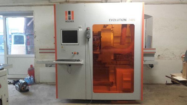 CNC Bearbeitungszentrum Holzher Evolution 7405
