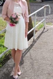 Umstandsbrautkleid Größe 36 Umstandskleid Brautkleid