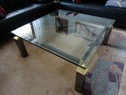 Glastisch zu verschenken modern siehe