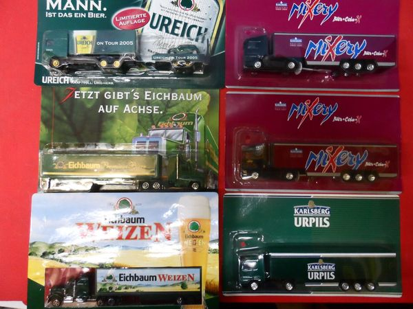 Eisenbahn Modellauto LKW - Reklame Werbung Werbetruck