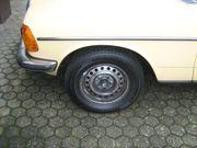 Reifen und Felgen Mercedes w123