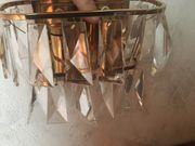 2 Vintage Palwa Kristall Wandleuchten
