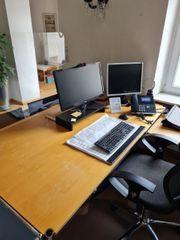 USM Haller - Schreibtisch Konferenztisch - Buche -