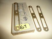 PERFEKT-Schließplatten rechts links verwendbar 20x170x3mm