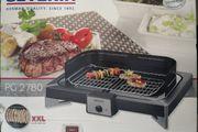 Tischgrill Serverin Elektro XXL Barbecue
