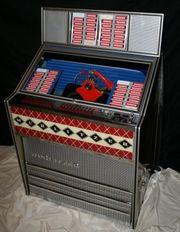 Schöne alte funktionstüchtige Jukebox Wurlitzer