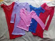 Netz Kleider Minis Shirts Gr
