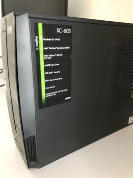 PCs über 2 GHz - Acer aspire xc 603