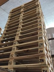 EINWEGPALETTEN Holz 1200x800mm - TOP-Zustand wie