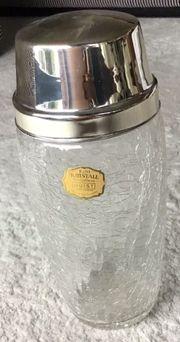 Vintage Kristall Cocktailshaker von Quist