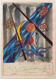 Lothar Schreyer Bauhaus Weimar 1921