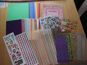 Kalender-Bastel-Set - Kalender Sticker 20 Bogen