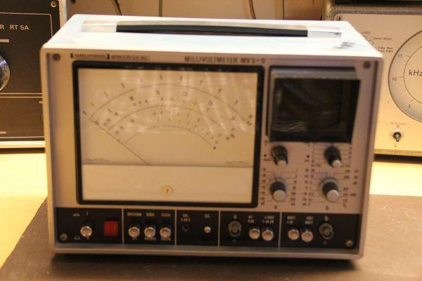 Grundig Millivoltmeter MV 5-O - Oszilloskopteil