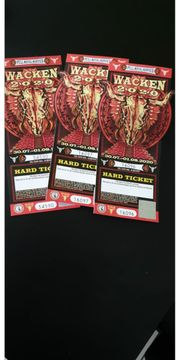 3 x Wacken Ticket 2020