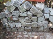 Granitpflastersteine 8 - 11 cm ca