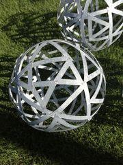 Metallkugel Gartenkugel 24 cm