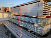 Stahl Gerüst 144 qm 18x8m -