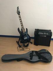 Verkaufe E-Gitarre von Ibanez mit