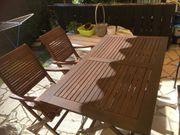 Gartenmöbel aus Akazienholz