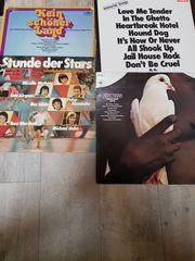 Schallplatten verschiedene Interpreten