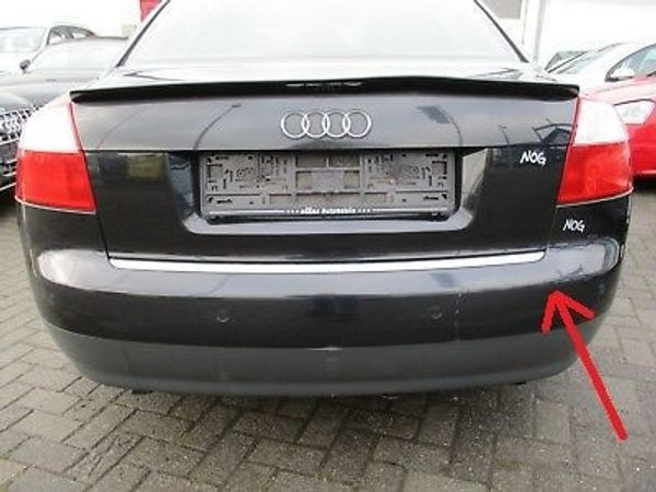 Verkaufe Stoßstange hinten Audi A4