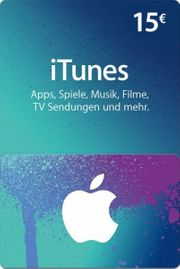 iTunes Gutschein 15