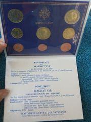 Original VATIKAN Kursmünzensatz KMS 2007
