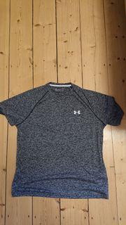 Verkaufe grau meliertes Sportshirt von