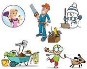 Gartenarbeit Reparaturen Tier und Haushaltshilfe