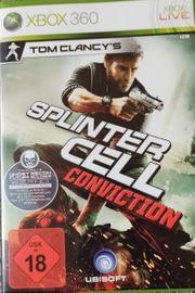XBOX 360 Spiel Splinter Cell