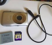 digitalcamera canon ixus 105 silber